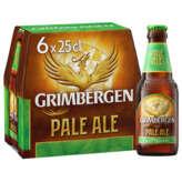 Grimbergen GRIMBERGEN Pale Ale - Bière blonde - Alcool 5,5%vol. - 6x25cl