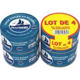 Petit Navire PETIT NAVIRE Thon entier au naturel - Albacore - 4x93g