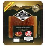 Montagne Noire MONTAGNE NOIRE Jambon sec 9 mois d'affinage Label Rouge - 6 ... - 100g