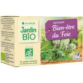 Jardin Bio JARDIN BIO Infusion bien-être du foie - Biologique - x20