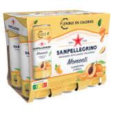 San Pellegrino SAN PELLEGRINO Momenti - Boisson pétillante - Clementine et pêche - 6x33cl