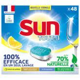 Sun SUN Tout en 1 - Lave-vaisselle - 48 tablettes - Parfum citro... - x48