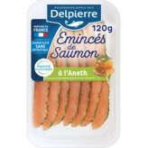 Delpierre DELPIERRE Emincés de saumon à l'aneth - 120g
