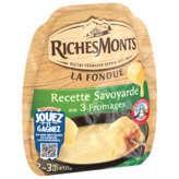 Riches Monts RICHESMONTS La fondue - Recette savoyarde aux 3 fromages - 450g