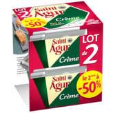 Saint Agur SAINT AGUR Crème - Crème de fromage fondu - 2x155g