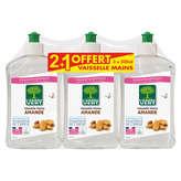 L'Arbre Vert L'ARBRE VERT Vaisselle Mains - Amande - Hypoallergénique - 3x500ml