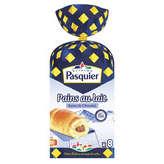 Pasquier BRIOCHE PASQUIER Pains au lait - Barre de chocolat - x10 - G... - 350g
