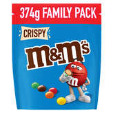 M&M's M&M'S Crispy - Confiserie chocolat - 374g