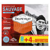 Delpeyrat DELPEYRAT Saumon fumé - Alaska - 8 tranches - 330g