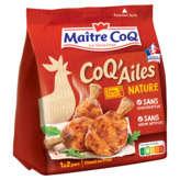 Maître Coq MAITRE COQ Coq'ailes nature - Manchons de poulet marinés cuits - 250g