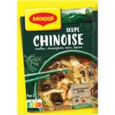 Maggi MAGGI Soupe chinoise - Nouilles, champignons noirs, épices - 60g