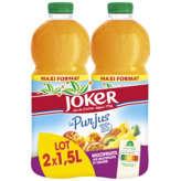 Joker JOKER Le pur jus - Jus multifruits - 2x1,5l