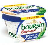 Boursin BOURSIN Onctueux - Fromage à tartiner - Basilic et ciboulett... - 125g