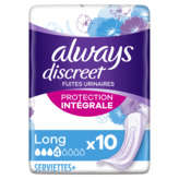 Always ALWAYS Discreet - Serviettes hygiéniques - 4 - Long - x10