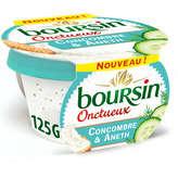 Boursin BOURSIN Fromage frais - Concombre & Aneth - Onctueux - 125g