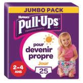 Huggies HUGGIES Pull Ups - Easy toilet training - Filles - De 2 à 4 ... - x25