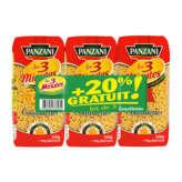 Panzani PANZANI Les 3 minutes - Coquillettes - Pâtes - Cuisson rapid... - 3x500g