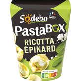 Sodeb'O PASTA'BOX Tortellini -Pâtes - Ricotta - Epinard - 280g