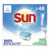 Sun SUN Tout en 1 - Lave-vaisselle - 48 tablettes - x48