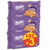 Milka MILKA Cookies sensation - Cœur choco - 3x182g