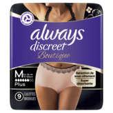 Always ALWAYS Serviettes hygiéniques - Pour culottes - Taille M - x9