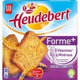 LU HEUDEBERT Pacte forme - Biscottes - Céréales complètes - x34 - 280g