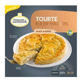 Française de Gastronomie FRANCAISE DE GASTRONOMIE Tourte - Ris de veau, volaille et c... - 450g