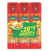 Panzani PANZANI Les 3 minutes - Spaghetti - Pâtes - Cuisson rapide - 3x500g