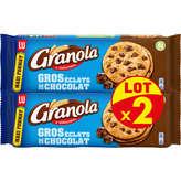 LU LU Granola Maxi Cookies goût Chocolat - 2x276g