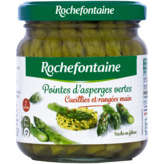 Rochefontaine ROCHEFONTAINE Pointes d'asperges vertes - 100g
