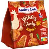 Maître Coq MAITRE COQ Wings party nature - 400g