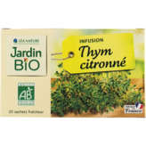 Jardin Bio JARDIN BIO Infusion - Thym citronné - Biologique - x20