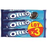 Oreo OREO Slug vanille - Biscuits - 3x154g