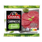 Charal CHARAL Carpaccio basilic - 230g
