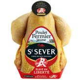 St Sever ST SEVER Poulet fermier jaune - De 1,2kg à 1,6kg