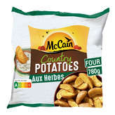 Mc Cain MC CAIN Country potatoes - Aux herbes - 780g