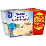 Nestlé NESTLE P'tit gourmand saveur Vanille - 200ml