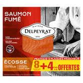 Delpeyrat DELPEYRAT Saumon fumé - Ecosse - 8 tranches - 345g