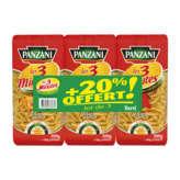Panzani PANZANI Les 3 minutes - Torti - Pâtes - Cuisson rapide - 3x500g