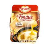 Président PRESIDENT La Fondue aux 3 fromages - Recette Savoyarde - 450g