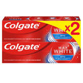 Colgate COLGATE Maxwhite dentifrice optic - 2x75ml