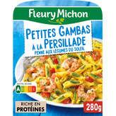 Fleury Michon FLEURY MICHON Gambas - Tagliatelle - Tomate Basilic - 280g
