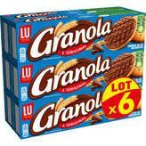 LU LU L'original - Biscuits chocolat au lait - 6x200g