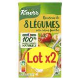 Knorr KNORR Douceur de 8 Légumes à la crème fraîche - 2x1l