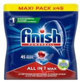 Finish FINISH Power ball - Tablettes lave-vaisselle tout en 1 - x45