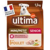 Ultima ULTIMA Mini 1-10kg - Senior +8 ans - Croquettes pour chien -... - 1,5kg