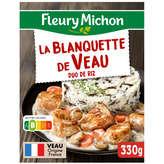 Fleury Michon FLEURY MICHON Blanquette de veau aux cèpes et duo de riz - S... - 330gr