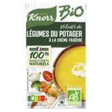 Knorr KNORR Bio - Velouté de Légumes du potager à la crème fraiche... - 1l