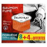 Delpeyrat DELPEYRAT Saumon fumé - Norvège - 8 tranches - 420g