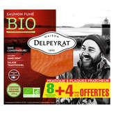 Delpeyrat DELPEYRAT Saumon fumé sauvage - Alaska - 8 tranches - 360g
